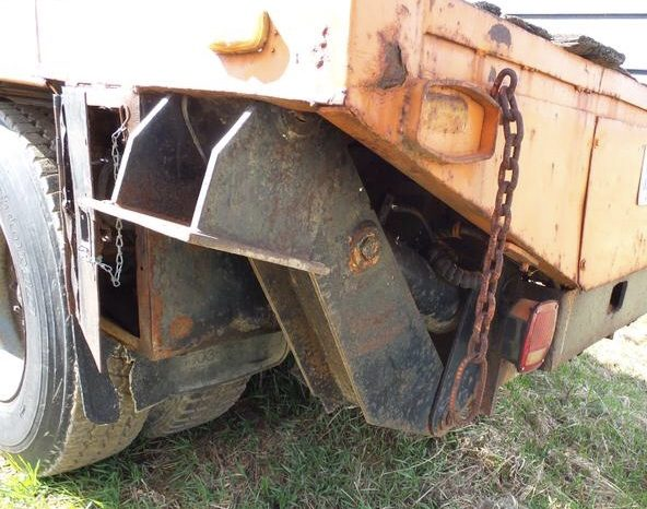 1984 Ford Del Zotto Rail Truck full
